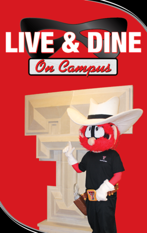Live and Dine on Campus!