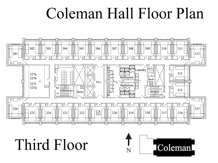 ColemanFloor3 The Coleman House Plan on the orman house, the creech house, the dahl house, the menard house, the wynn house, the chastain house, the sexton house, the hamlin house, the alvarado house, the gast house, the sanford house, the stoner house, the mann house, the deason house, the hahn house, the sprout house, the parrish house, the clebourne house, the aldredge house, the chamberlain house,