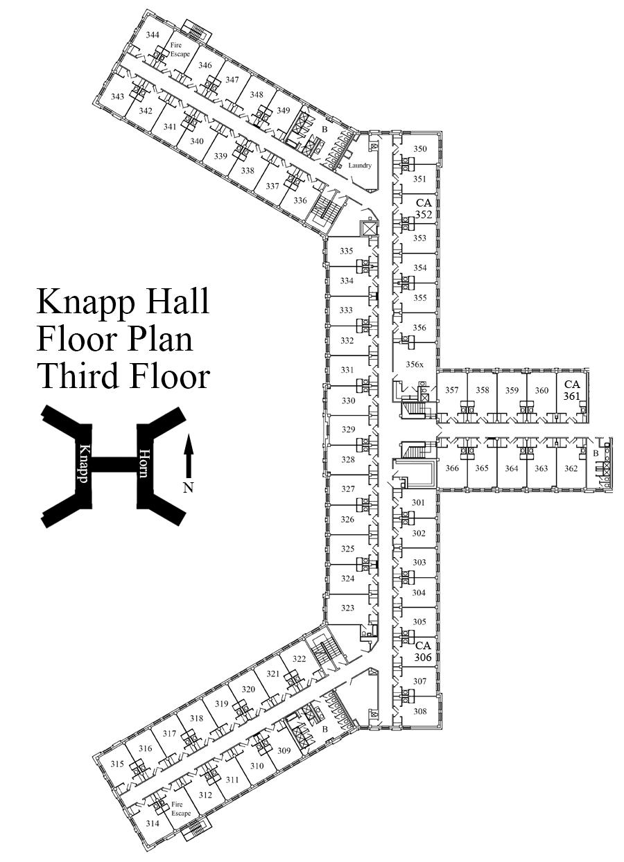 Hall Floor Plan Texas Tech University Student