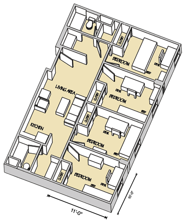 Murray Suite Floor Plan